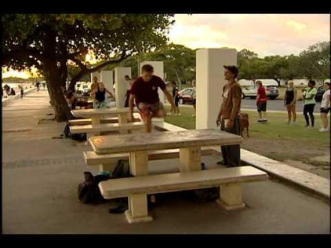 Hawaii Parkour on KITV news!!!