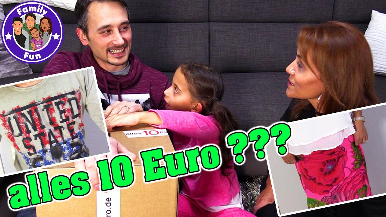 Alles 10 Euro Shopping Haul Online Shop Geheimtip Family