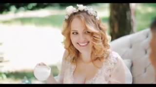 Романтичная свадьба под открытым небом