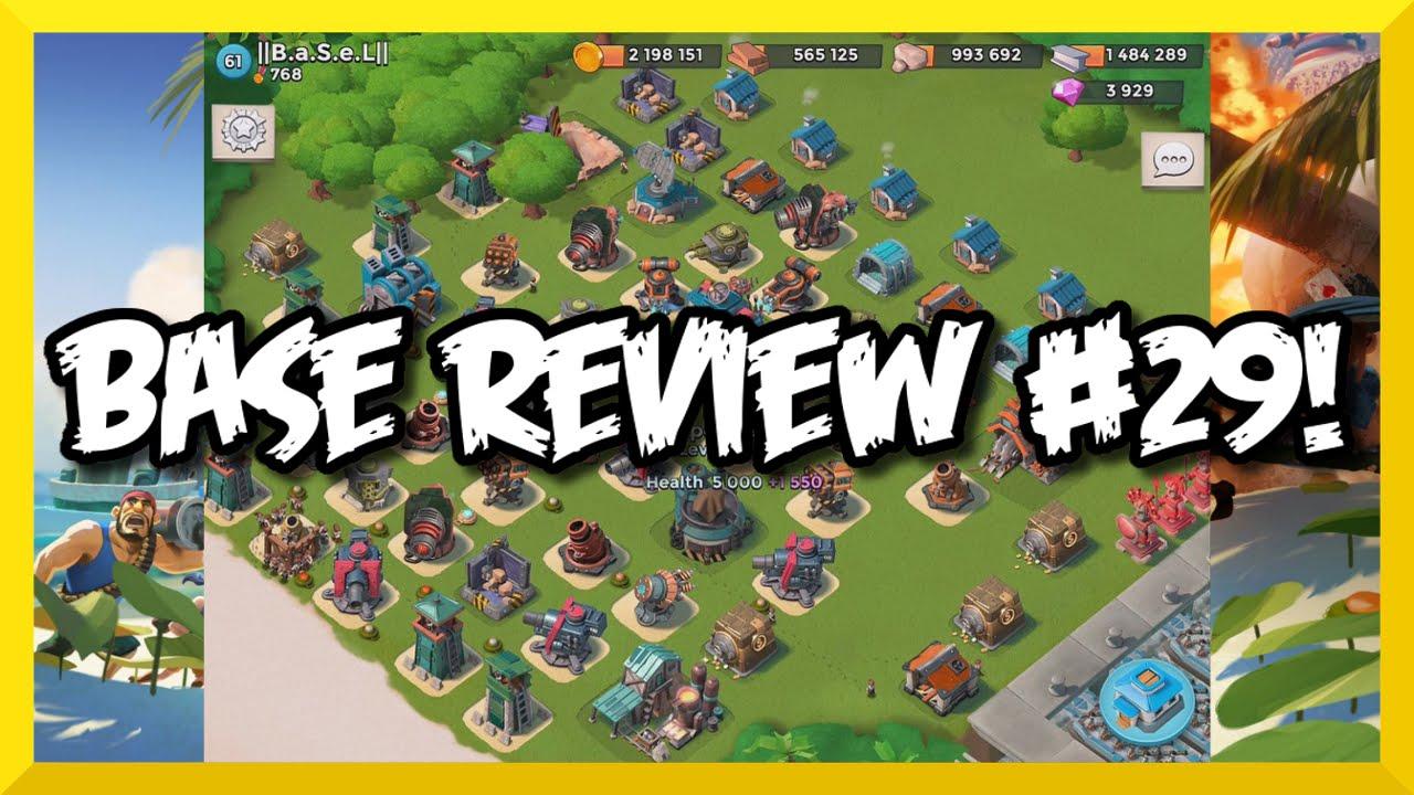 Boom Beach Base Reviews 29 Defense Setup Tips And Hints