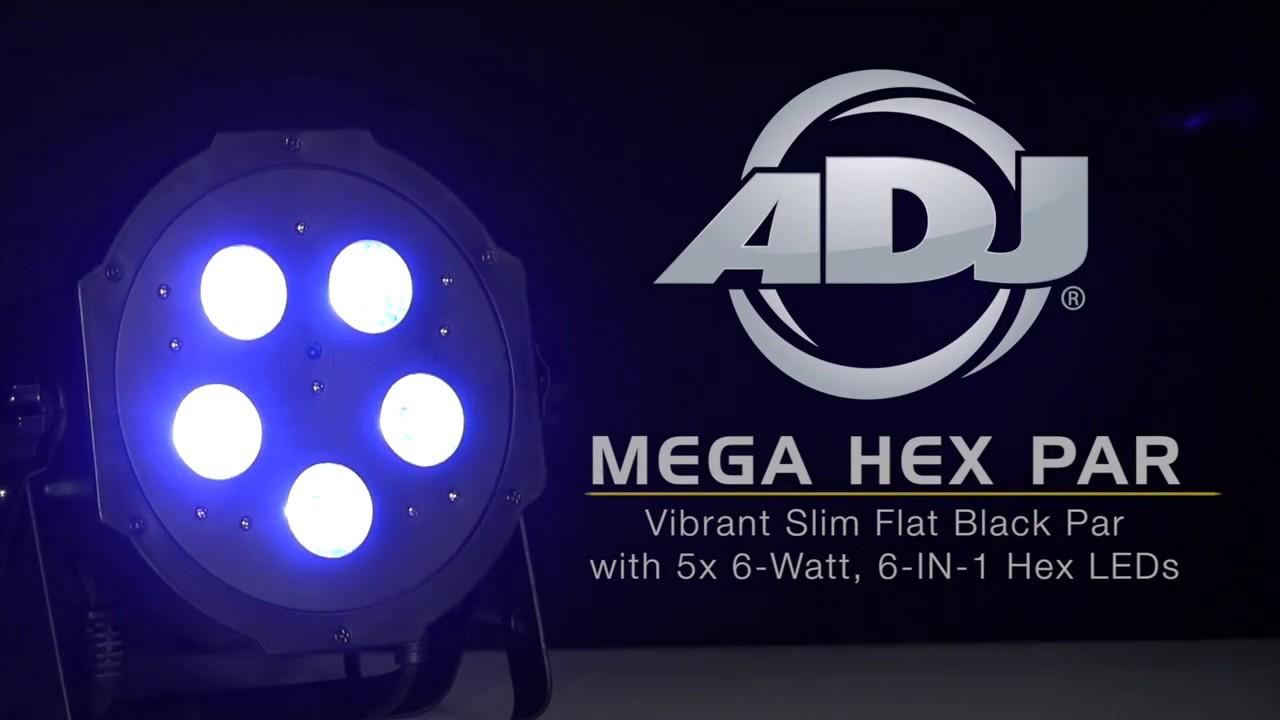 Mega Hex Par Uc Ir Airstream Ir Lights Products