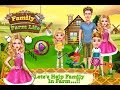 Family Life on the Farm / Farming Games / Videos Games for Children /Android HD