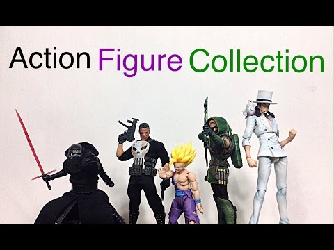 My Action Figure Display Collection Update Video #11 My Entire Collection
