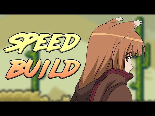 [Terraria] ??????? ? ???????? // Speed Build