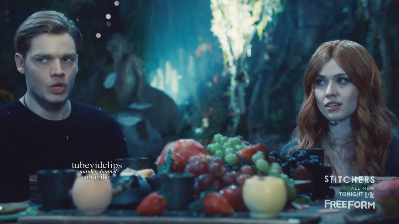 Download Shadowhunters 2x14 Jace Clary Dinner Scene Seelie Queen Wants to Talk with Simon Season 2 Episode 14