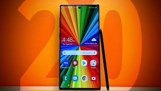 Note 20: Everything we want to see
