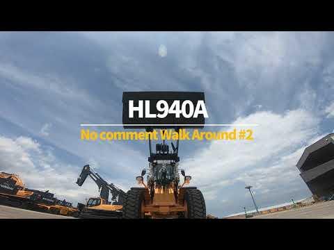 Video Kolové kloubové nakladače Hyundai HL940A