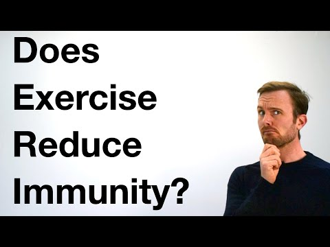 Does Exercise Reduce Immune Function?