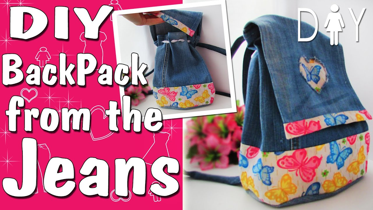 Jeans recycle DIY Tutorial