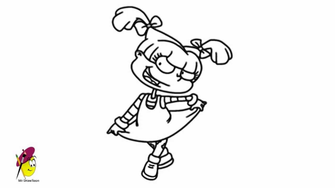 Rugrats - How to draw Rugrats - YouTube