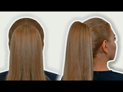 How to Do a High Ponytail| Hairstyles by Yourself| Tutorial - YouTube