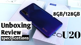Vivo U20 8GB/128GB Unboxing & Review !! Vivo U20 Specifications , Camera Review and More 🔥🔥 🔥