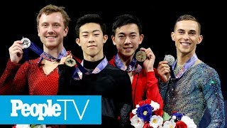 Karen Chen, Adam Rippon & More Olympic Figure Skaters Reveal Who Inspires Them | PeopleTV