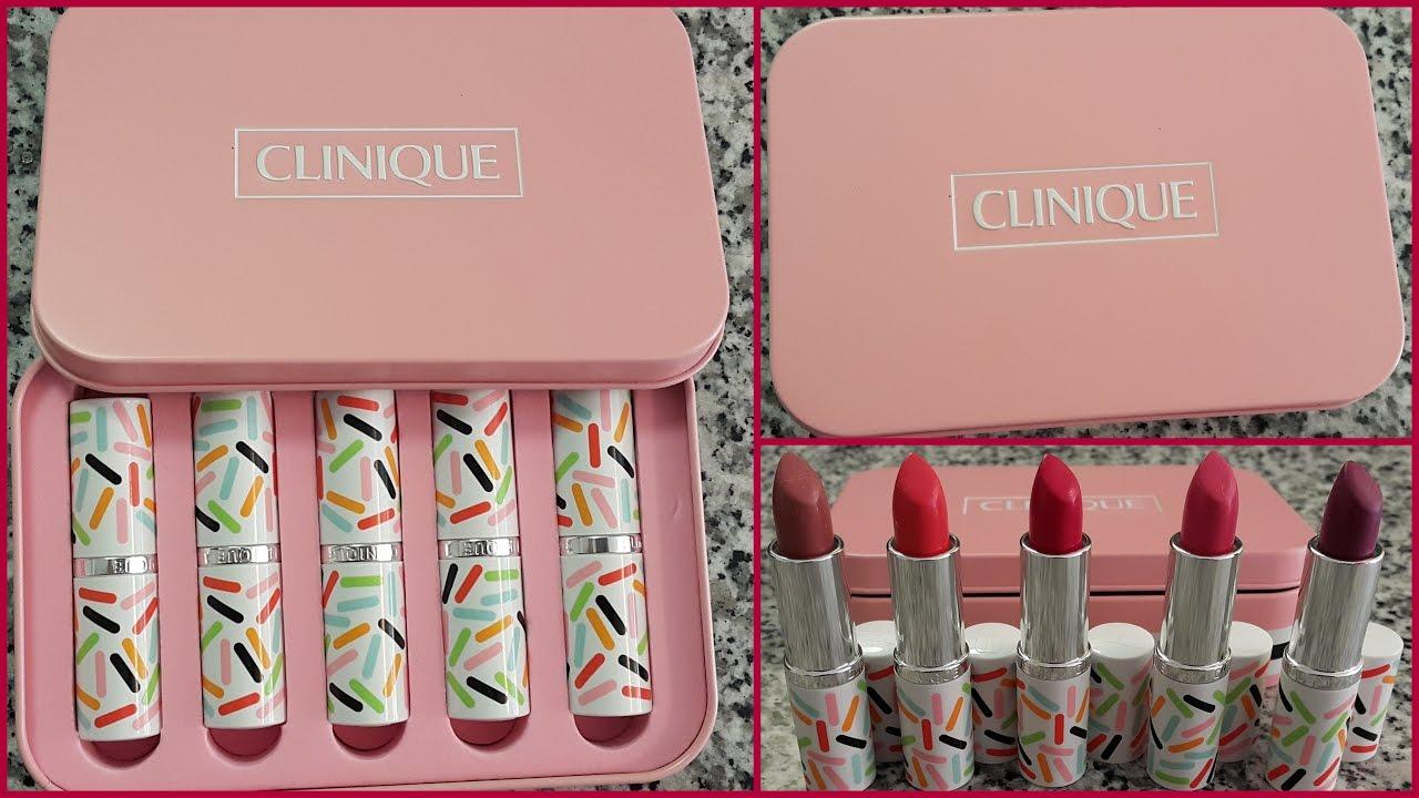ผลการค้นหารูปภาพสำหรับ Clinique Candy Store Lipstick Set
