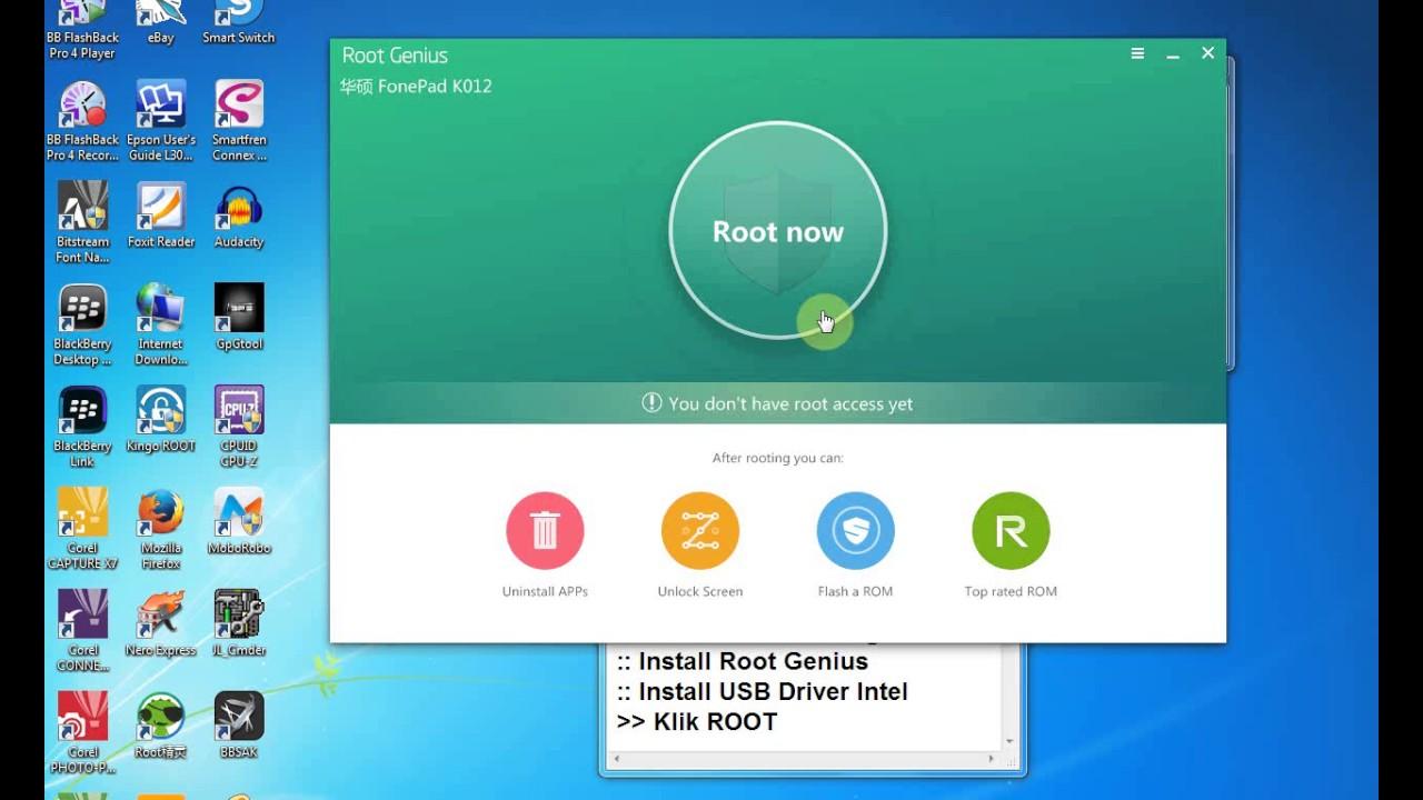 Root Tablet Asus FonePad K012