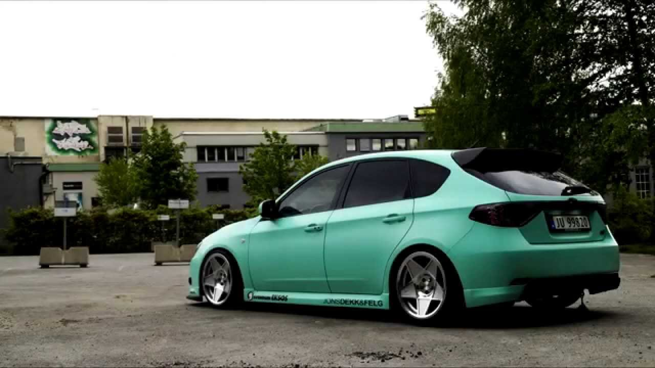 Subaru Wrx Custom >> Scandic Stance: Static Impreza Hatch - YouTube
