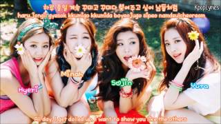 Girl's Day - Look At Me [Color Coded + English Subs + Romanization + Hangul] HD