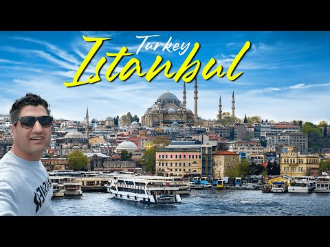 Istanbul Tour in 6 Hours || How I Spent $50 in Istanbul Turkey?