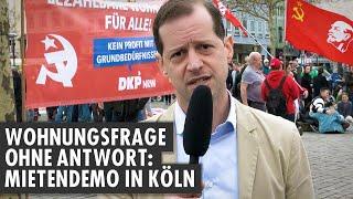 Wohnungsfrage ohne Antwort: Mietendemo in Köln