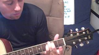 Great Is Thy Faithfulness Guitar Chords Tutorial Lessons