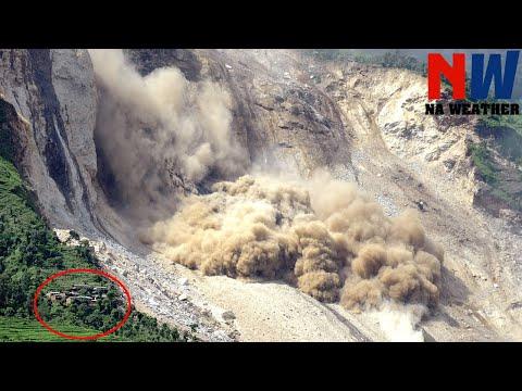 Crazy Footages: Massive Landslides Caught On Camera 2020