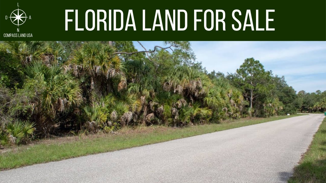 SOLD By Compass Land USA - 0.23 Acres - Power 160 Feet! In Port Charlotte, Charlotte County FL