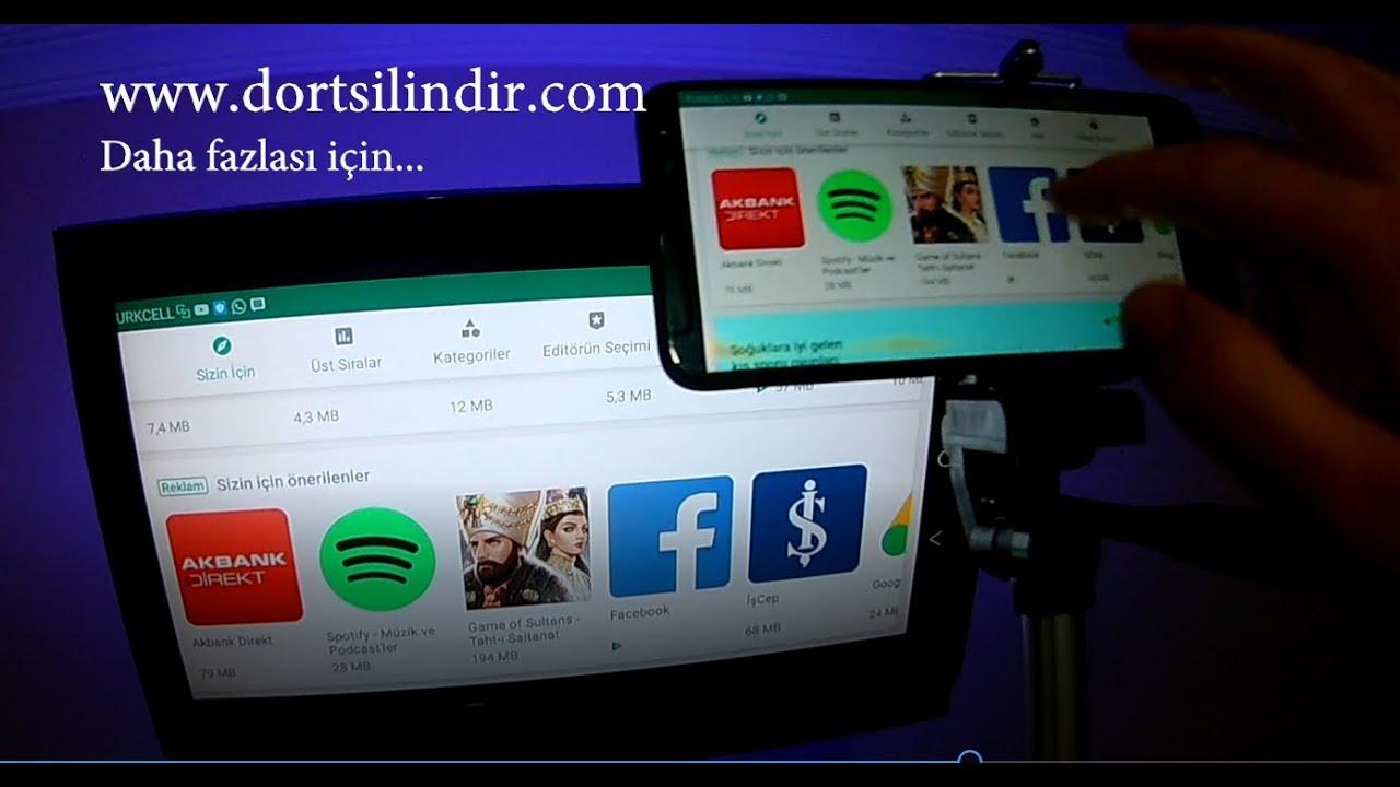 TELEFONU TV BOXLA TV'YE NASIL BAĞLARIZ? Android&İOS | ChromeCast, Screen Mirroring, Miracast