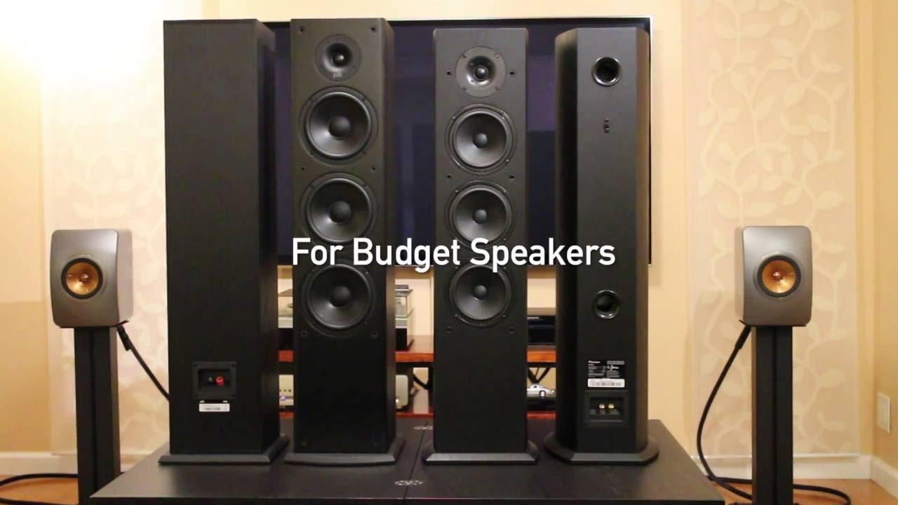 Polk Audio T50 Vs Pioneer FS52 Tower Speakers Comparison Review