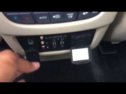 Acura Mdx Interior >> Inside the 2014 Acura MDX Entertainment Package - John Eagle Acura - YouTube