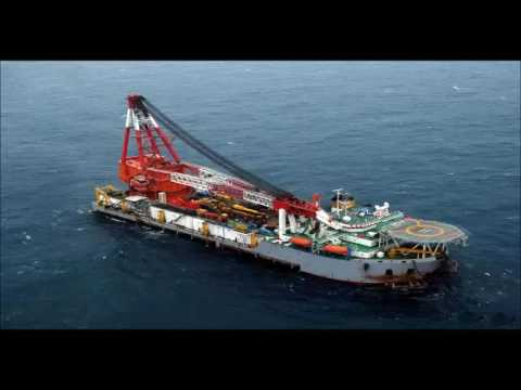 FLOATING CRANE BARGE SHIP CRANE 50T to 5000T crane vessel ch