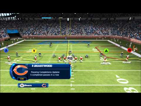 Madden 13: Chicago Bears vs. Detroit Lions: Connected Careers: Flint Beastwood