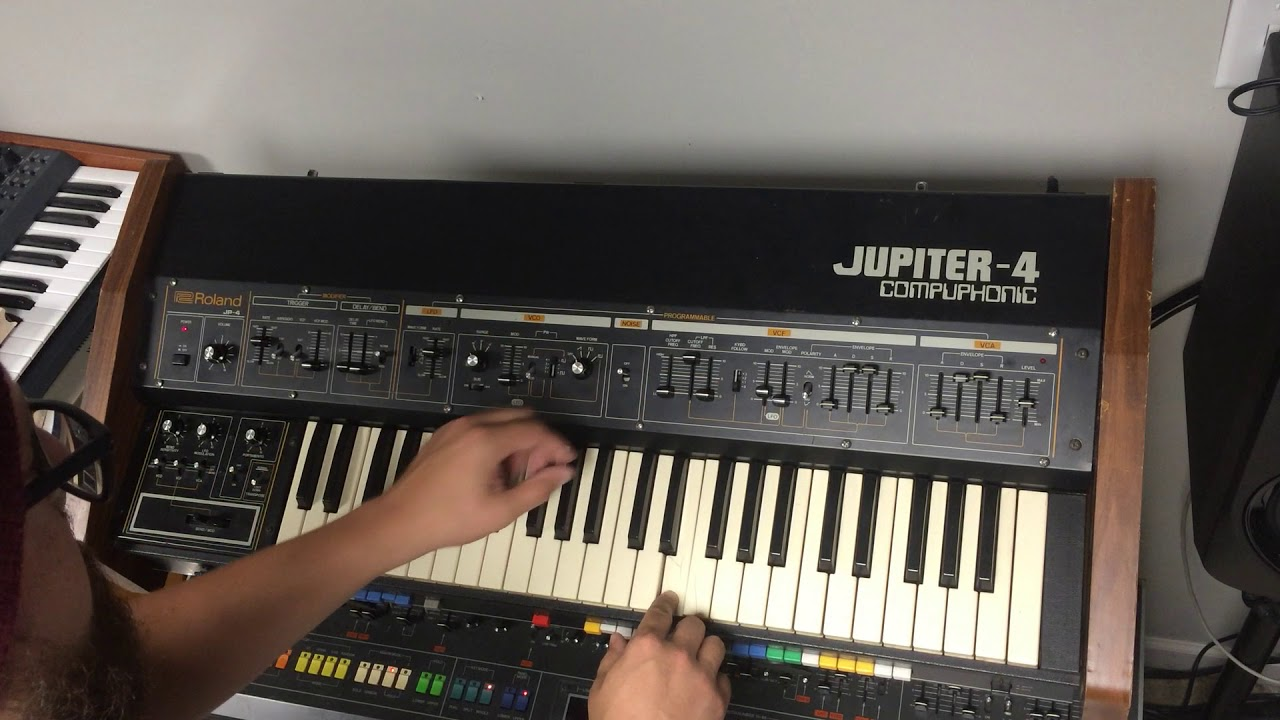 Roland Jupiter 4 with IO mod for sale on Reverb 9/28/17