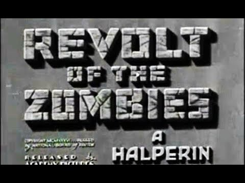 Horror Movie - Revolt of the Zombies (1936)
