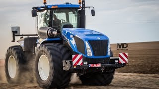 NEW HOLLAND T9 | 2x T7 Blue Power | Plantation de PDT | Franken Agro