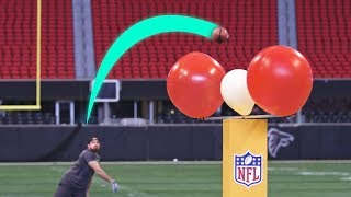 Super Bowl Stadium Trick Shots
