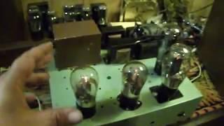 1920's Era UX-250 Tube Mono Amplifier