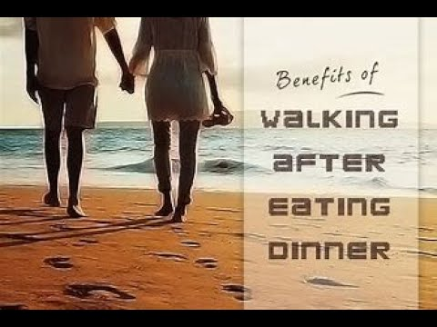 is walking after eating good for you | what science says