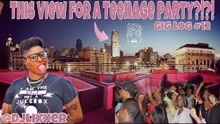 DOWNTOWN ROOFTOP SWEET 16! | Female DJ Gig Log #12 | #LiXxerExperience TV