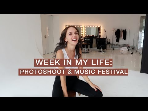 Week in My Life - Magazine Photoshoot and Meeting Two Lesbian Icons