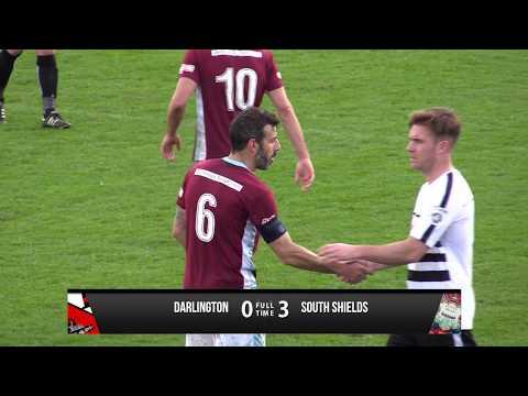 Darlington 0-3 South Shields - FA Cup - 2017/18