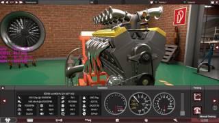15010 cc OHV Monster V12 in Automation