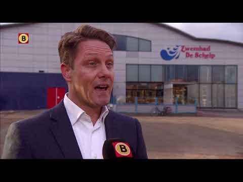 Zwembad De Schelp in Bergen op Zoom per direct dicht, draagconstructie onveilig