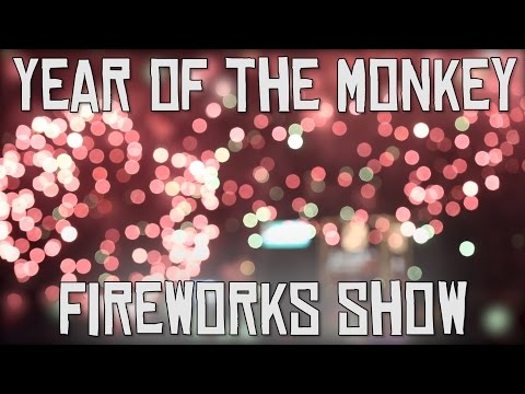 Relive Hong Kong's Magical Chinese New Year Fireworks   A China Icons' Video