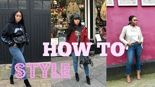 HOW TO STYLE MOM JEANS | LOOKBOOK
