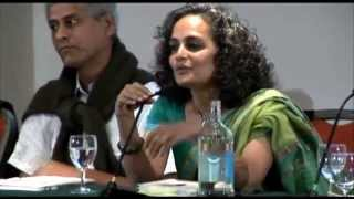 Arundhati Roy brilliantly debunks a right-winger