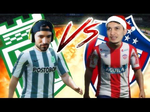 Final del Fútbol Colombiano - Atlético Nacional Vs Junior de Barranquilla - Contra SERGIO - FIFA ...