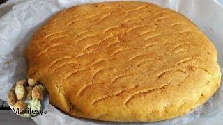 Кукурузный хлеб к завтраку за 40 минут! без дрожжей и яиц.
