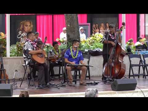 Hanohano Hanalei with Jeffrey Au Hoy, Hawaiian Steel Guitar Festival 2018