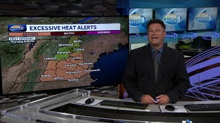 Video: Hot weather continues