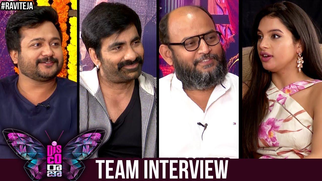 Disco Raja Team Interview | Ravi Teja | Nabha Natesh | Payal | Bobby Simha | VI Anand | Tanya Hope